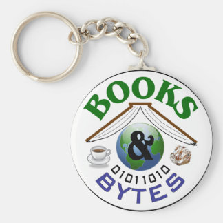 Books and Bytes keychain