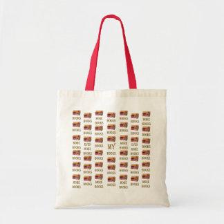 Books and more books tote bag