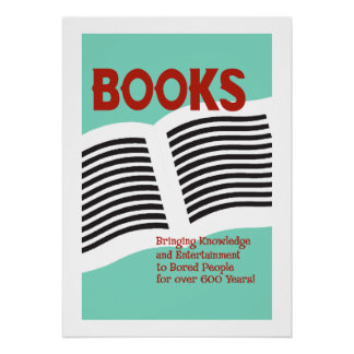 Books and Reading Poster