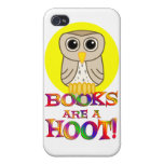 Books are a Hoot iPhone 4 Case