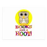 Books are a Hoot Postcard