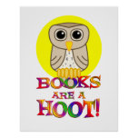 Books are a Hoot - Starting at $11.80 Posters