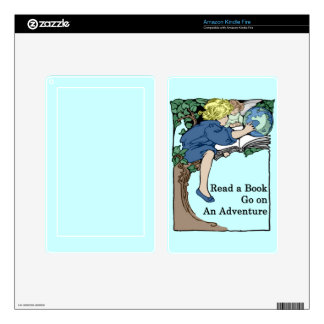 Books are an Adventure Kindle Fire Skins