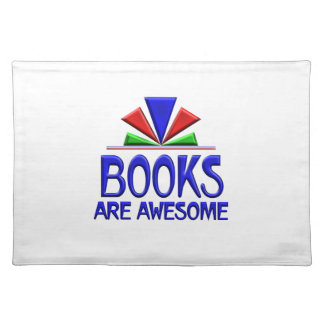 Books are Awesome Cloth Placemat