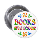 Books are Awesome Pinback Button
