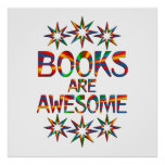 Books Are Awesome Poster