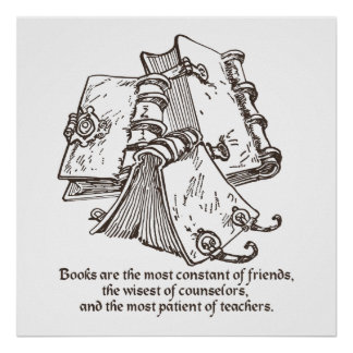 Books are Constant Print