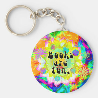 Books Are Fun Keychains