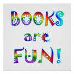 Books are Fun - Starting at $11.80 Poster