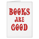 Books are Good Card