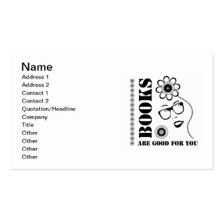 Books Are Good For You Business Card