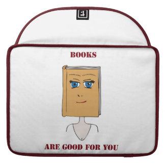 Books Are Good For You MacBook Pro Sleeve