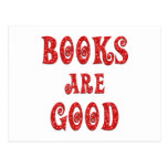 Books are Good Post Cards