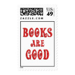 Books are Good Postage Stamps