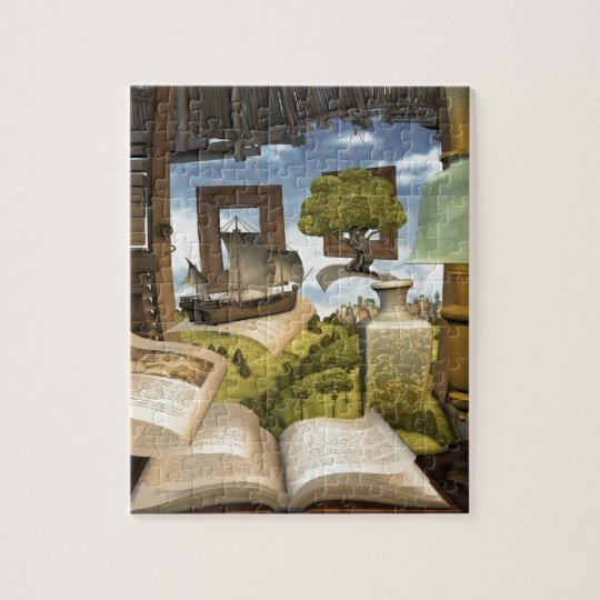 Books are knowledge! jigsaw puzzle