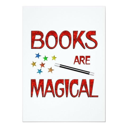 Books are Magical Card
