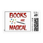 Books are Magical Postage