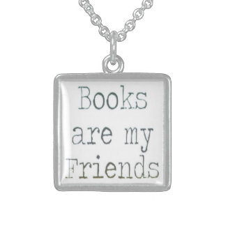 Books Are My Friends Pendants