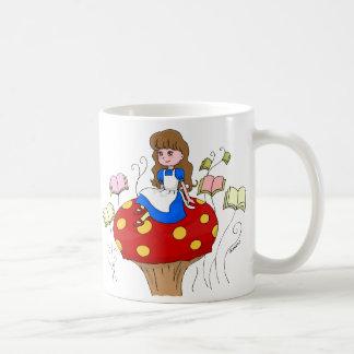 Books are my Wonderland! Coffee Mug
