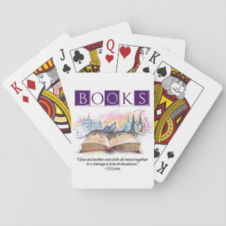 Books Are... Playing Cards