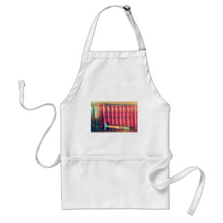 Books are stronger than hammers adult apron