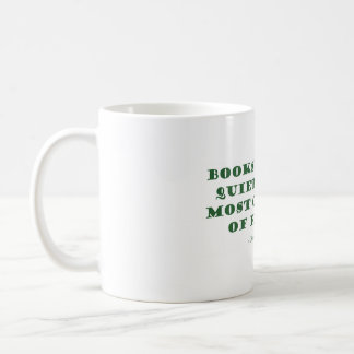 Books Are The Quietest & Most Constant of Friends Classic White Coffee Mug