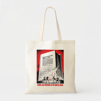 """""""Books Are Weapons"""" Bag"""