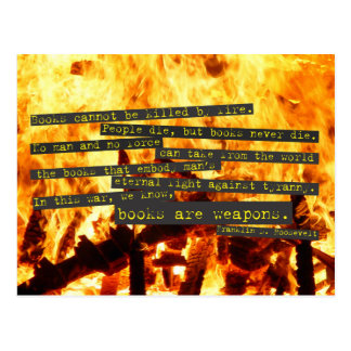 Books are Weapons Postcards