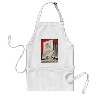 Books Are Weapons World War II Adult Apron