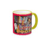 books are wonderful friends coffee mug