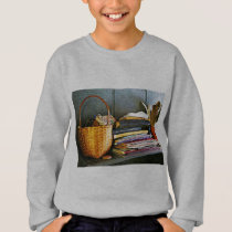 Books, Basket and Quill Sweatshirt