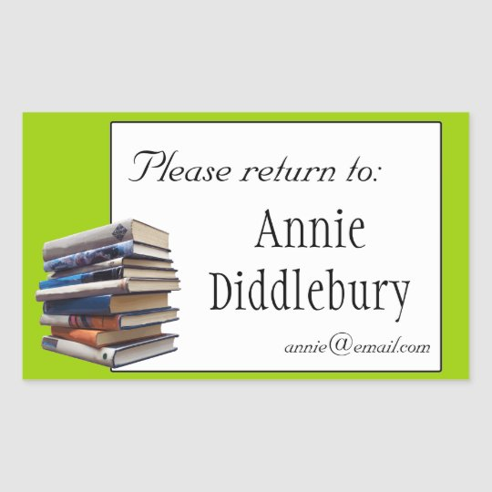 Books Bookplate or Ownership Sticker
