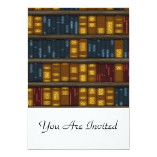 Books, Books, Books - Bookshelf Pattern Card