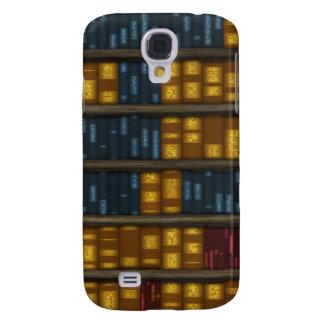 Books, Books, Books - Bookshelf Pattern Samsung S4 Case