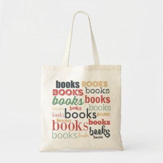Books Books Books! Budget Tote Bag