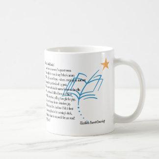 Books, books, books! classic white coffee mug