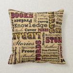 Books Books Books! Pillows