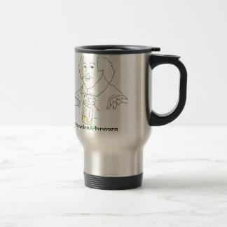 Books & Brews Logo 15 Oz Stainless Steel Travel Mug