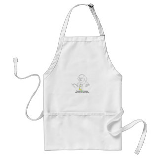 Books & Brews Logo Adult Apron
