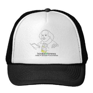 Books & Brews Logo Trucker Hat
