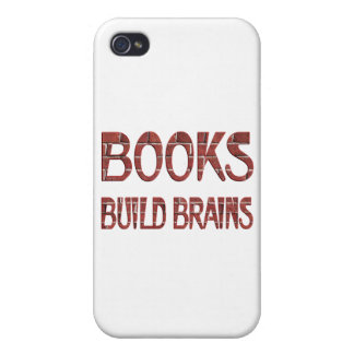 Books Build Brains iPhone 4/4S Cover