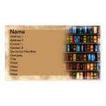 Books Double-Sided Standard Business Cards (Pack Of 100)