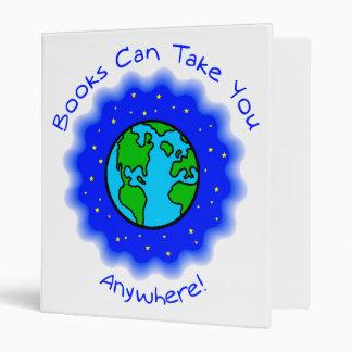 Books Can Take You Binder - 3 sizes