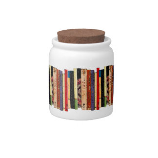 Books Candy Dishes