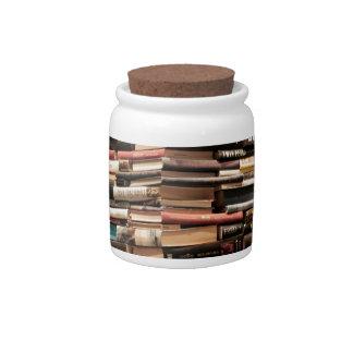 Books Candy Jar
