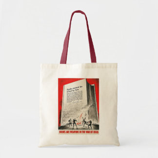 Books Can't Be Killed By Fire Budget Tote Bag