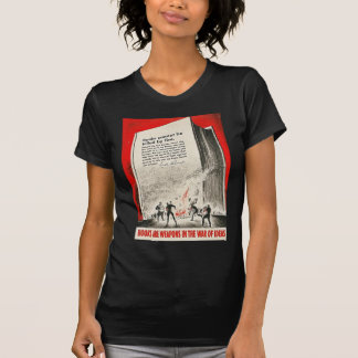 Books Can't Be Killed By Fire Tee Shirts