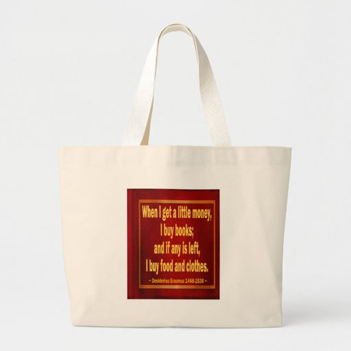Books Canvas Bag