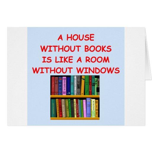 books cards