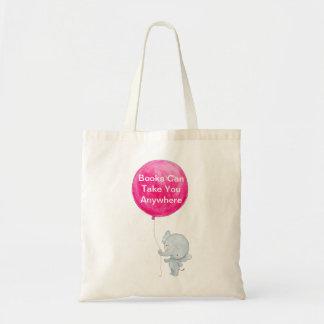 Books Cat Take You Anywhere Tote Cute Library Bag